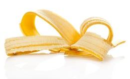 Кожа от съеденного банана Стоковая Фотография