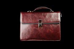 кожа портфеля Стоковое Фото