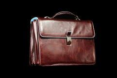 кожа портфеля Стоковое Изображение RF