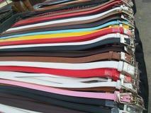 кожа пояса цветастая Стоковая Фотография RF
