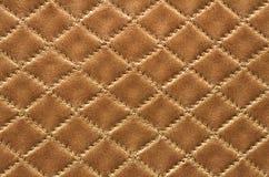кожа предпосылки коричневая Стоковые Изображения
