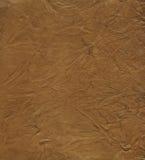 кожа предпосылки коричневая Стоковые Фото