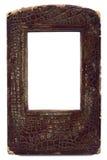 кожа рамки естественная старая Стоковая Фотография