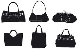 кожа сумок Стоковые Изображения RF