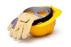 кожа трудного шлема Стоковая Фотография RF