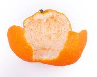 Кожура tangerine Стоковая Фотография