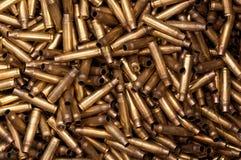кожухи пули 5,56 mm Стоковое Изображение RF