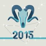Коза талисмана Нового Года Стоковая Фотография RF