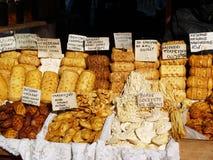 Козий сыр в Польше Стоковое Фото