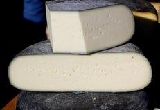 Козий сыр фермы естественный органический белый Стоковая Фотография RF