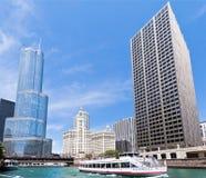 козырь башни chicago Стоковые Фотографии RF