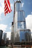 козырь башни chicago Стоковое Фото