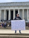 Козырь против Линкольна стоковая фотография