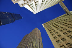козырь wrigley башни здания Стоковое фото RF