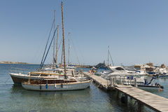 Койка яхты Стоковое Фото