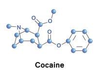 Кокаин сильный стимулятор иллюстрация вектора
