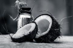 Кокос & кокосовое масло Стоковые Изображения