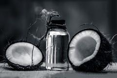 Кокос & кокосовое масло Стоковые Фотографии RF