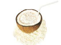 кокос коктеила milky Стоковые Фотографии RF