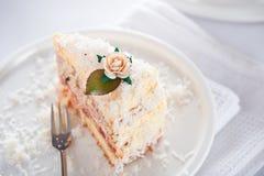 кокос торта Стоковое Изображение RF