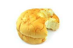 Кокос хлеба заполняя там метки укуса Стоковое Фото
