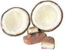 кокос шоколада Стоковые Изображения RF