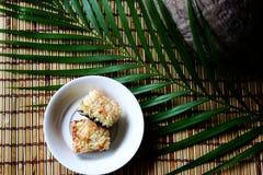 кокос штанг черный нижний Стоковые Изображения RF