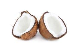 кокос halves 2 Стоковые Фотографии RF