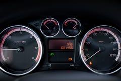 Кокпит автомобиля Стоковое Фото