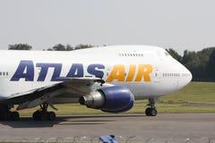 кокпит атласа воздуха 747 Стоковое фото RF