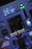 кокпит Боинга стоковая фотография