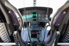 Кокпит вертолета Стоковые Фотографии RF