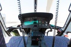Кокпит вертолета Стоковое Изображение RF