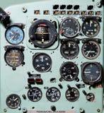 кокпит самолета Стоковая Фотография RF