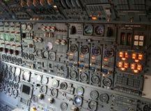 кокпит самолета Стоковые Фото