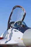 Кокпит самолет-истребителя Mikoyan MIG-29. Стоковое Изображение RF