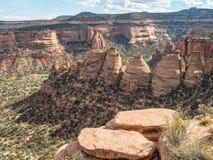 Коксовые печи, национальный монумент Колорадо Стоковое Изображение RF