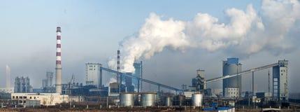 Коксовый завод Shen северный Стоковые Изображения RF