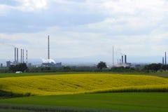 коксовый завод Стоковая Фотография RF