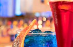 коктеилы Стоковое Изображение