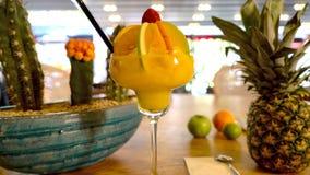 Коктеиль апельсинового сока Стоковое Изображение