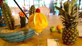 Коктеиль апельсинового сока Стоковые Фото