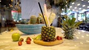Коктеиль сока ананаса Стоковое Фото