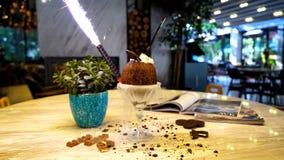 Коктеиль сока кокоса Стоковое Фото