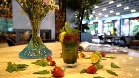 Коктеиль фруктового сока Стоковая Фотография RF