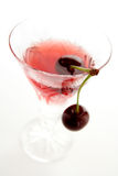 коктеил вишни кислый Стоковая Фотография