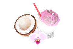 Коктеил кокоса Стоковая Фотография RF