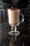 Коктеил питья чашки кофе Стоковое Изображение