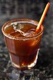 Коктеил питья чашки кофе Стоковые Фотографии RF