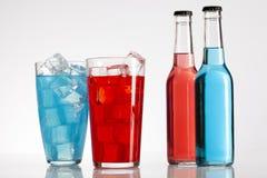 Коктеил спирта бутылки Стоковое Фото